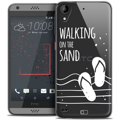 Carcasa Crystal Gel Extra Fina HTC Desire 530/630 Summer Walking on the Sand