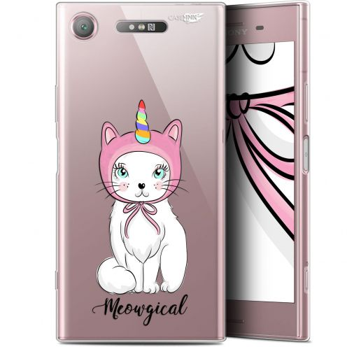 "Carcasa Gel Extra Fina Sony Xperia XZ1 (5.2"") Design Ce Chat Est MEOUgical"