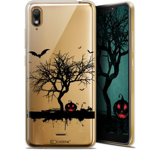 "Carcasa Gel Extra Fina Wiko View 2 GO (5.93"") Halloween Devil's Tree"