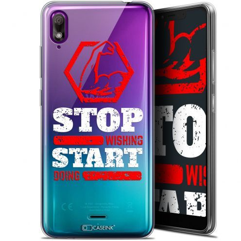 "Carcasa Gel Extra Fina Wiko View 2 GO (5.93"") Quote Start Doing"