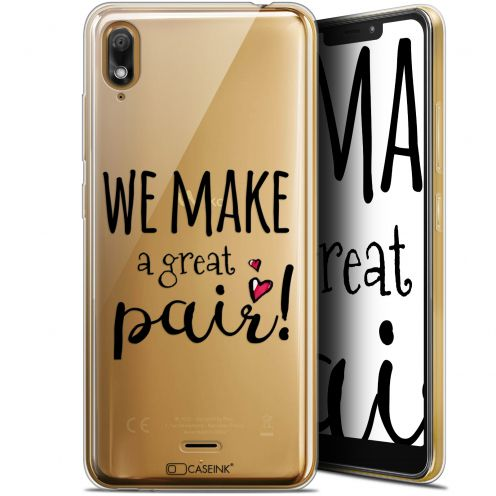 "Carcasa Gel Extra Fina Wiko View 2 GO (5.93"") Love We Make Great Pair"