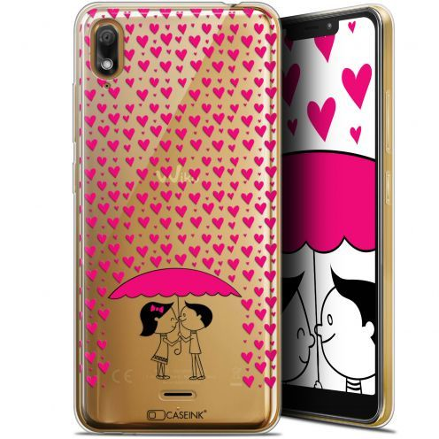 "Carcasa Gel Extra Fina Wiko View 2 GO (5.93"") Love Pluie d'Amour"