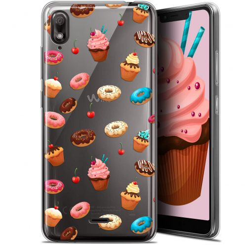 """Carcasa Gel Extra Fina Wiko View 2 GO (5.93"""") Foodie Donuts"""
