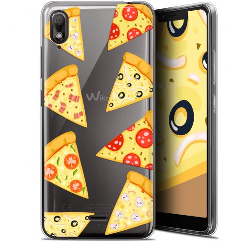 """Carcasa Gel Extra Fina Wiko View 2 GO (5.93"""") Foodie Pizza"""
