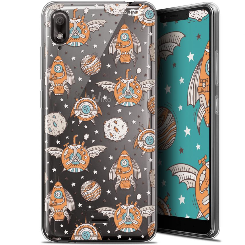 "Carcasa Gel Extra Fina Wiko View 2 GO (5.93"") Design Punk Space"