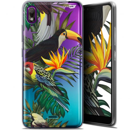 "Carcasa Gel Extra Fina Wiko View 2 GO (5.93"") Design Toucan Tropical"