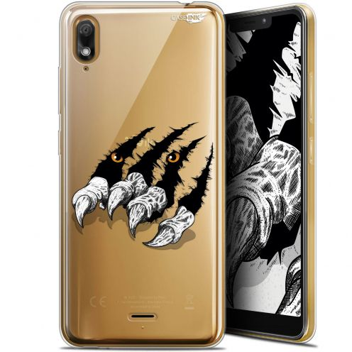 "Carcasa Gel Extra Fina Wiko View 2 GO (5.93"") Design Les Griffes"