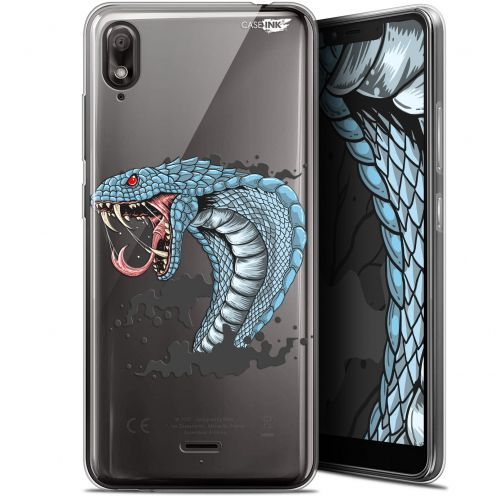 "Carcasa Gel Extra Fina Wiko View 2 GO (5.93"") Design Cobra Draw"