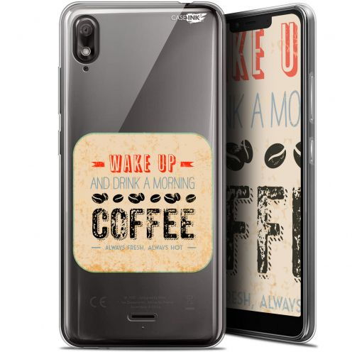 "Carcasa Gel Extra Fina Wiko View 2 GO (5.93"") Design Wake Up With Coffee"