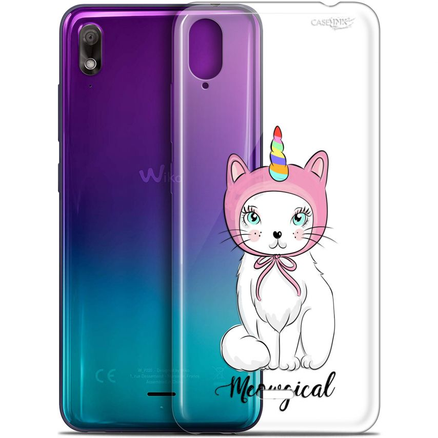"Carcasa Gel Extra Fina Wiko View 2 GO (5.93"") Design Ce Chat Est MEOUgical"