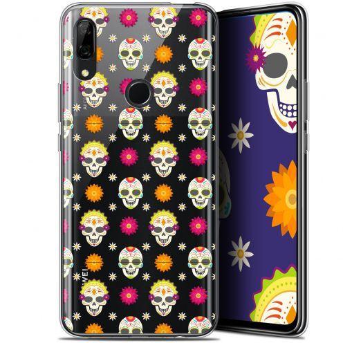 "Carcasa Gel Extra Fina Huawei P Smart Z (6.6"") Halloween Skull Halloween"