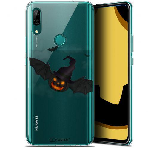 "Carcasa Gel Extra Fina Huawei P Smart Z (6.6"") Halloween Chauve Citrouille"