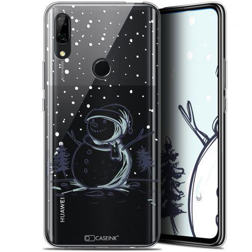 """Carcasa Gel Extra Fina Huawei P Smart Z (6.6"""") Noël 2017 Bonhomme de Neige"""