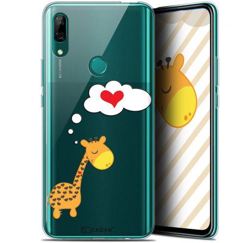 "Carcasa Gel Extra Fina Huawei P Smart Z (6.6"") Love Girafe Amoureuse"