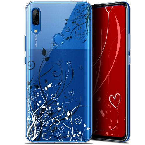 "Carcasa Gel Extra Fina Huawei P Smart Z (6.6"") Love Hearts Flowers"