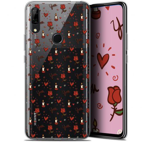 "Carcasa Gel Extra Fina Huawei P Smart Z (6.6"") Love Bougies et Roses"