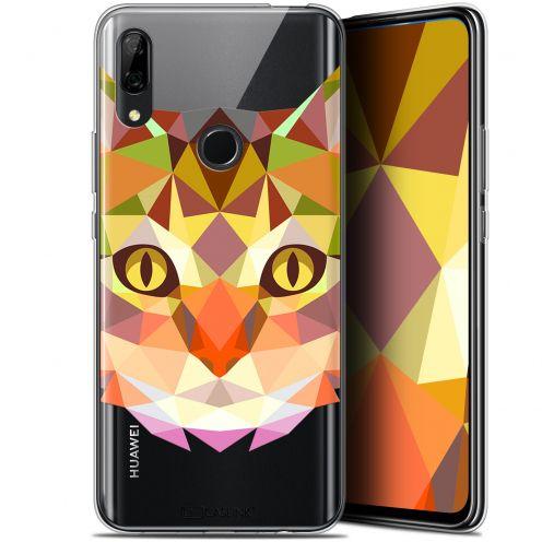 "Carcasa Gel Extra Fina Huawei P Smart Z (6.6"") Polygon Animals Gato"