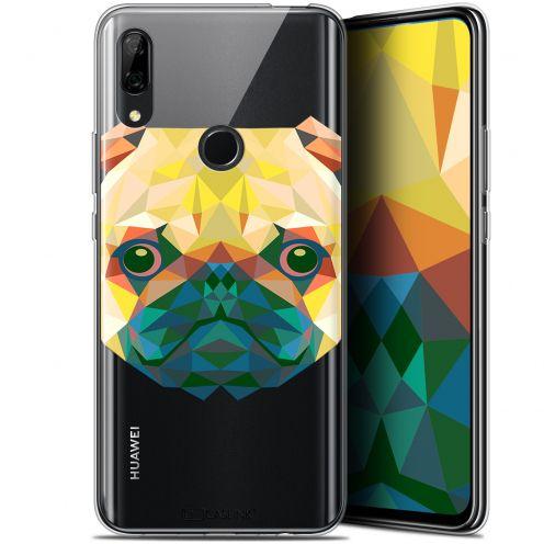 "Carcasa Gel Extra Fina Huawei P Smart Z (6.6"") Polygon Animals Perro"