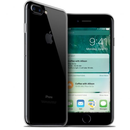 "Carcasa Extra Fina 1 mm Flexible Crystal Clear para Apple iPhone 7/8 Plus (5.5"")"