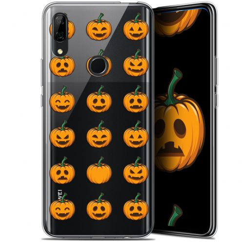 "Carcasa Gel Extra Fina Huawei P Smart Z (6.6"") Halloween Smiley Citrouille"