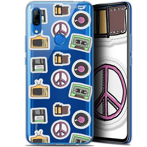 "Carcasa Gel Extra Fina Huawei P Smart Z (6.6"") Design Vintage Stickers"