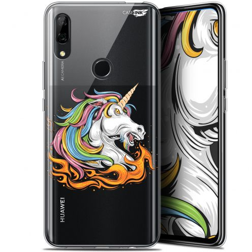 "Carcasa Gel Extra Fina Huawei P Smart Z (6.6"") Design Licorne de Feu"