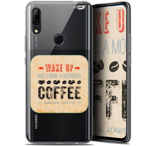 "Carcasa Gel Extra Fina Huawei P Smart Z (6.6"") Design Wake Up With Coffee"