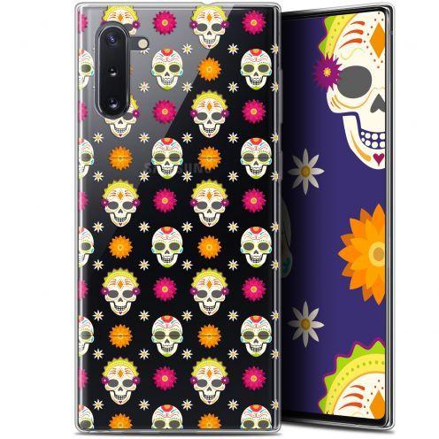 """Carcasa Gel Extra Fina Samsung Galaxy Note 10 (6.3"""") Halloween Skull Halloween"""