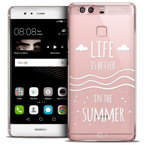 Carcasa Crystal Rigide Extra Fina Huawei P9 Summer Life's Better