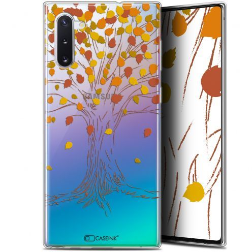 "Carcasa Gel Extra Fina Samsung Galaxy Note 10 (6.3"") Autumn 16 Tree"