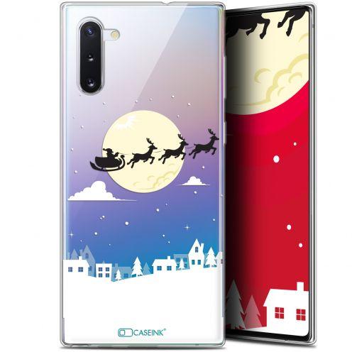 "Carcasa Gel Extra Fina Samsung Galaxy Note 10 (6.3"") Noël 2017 Flying Stanta"