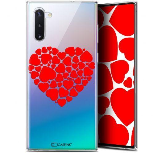"Carcasa Gel Extra Fina Samsung Galaxy Note 10 (6.3"") Love Coeur des Coeurs"