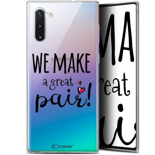"Carcasa Gel Extra Fina Samsung Galaxy Note 10 (6.3"") Love We Make Great Pair"