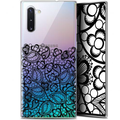"""Carcasa Gel Extra Fina Samsung Galaxy Note 10 (6.3"""") Spring Bas dentelle Noir"""