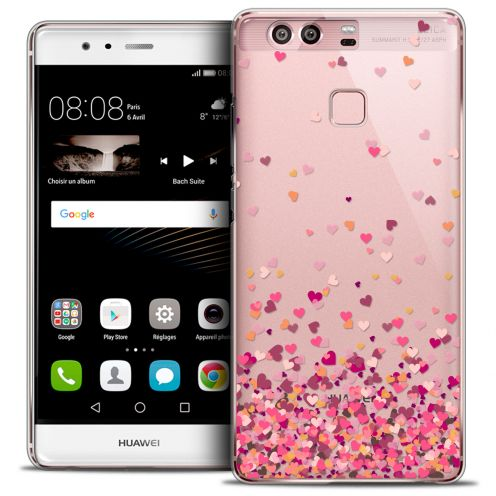 Carcasa Crystal Rigide Extra Fina Huawei P9 Sweetie Heart Flakes