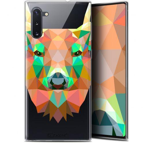 "Carcasa Gel Extra Fina Samsung Galaxy Note 10 (6.3"") Polygon Animals Ciervo"