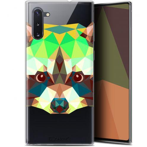 "Carcasa Gel Extra Fina Samsung Galaxy Note 10 (6.3"") Polygon Animals Raton Laveur"