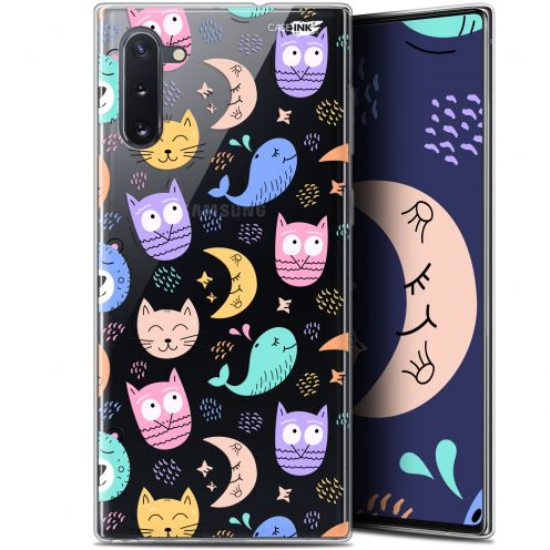 "Carcasa Gel Extra Fina Samsung Galaxy Note 10 (6.3"") Design Chat Hibou"