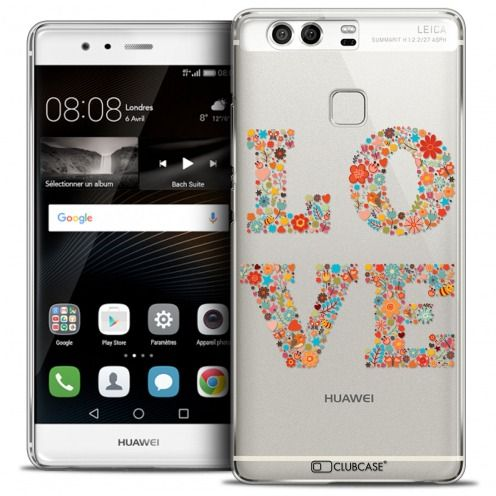 Carcasa Crystal Rigide Extra Fina Huawei P9 Summer Love Flowers