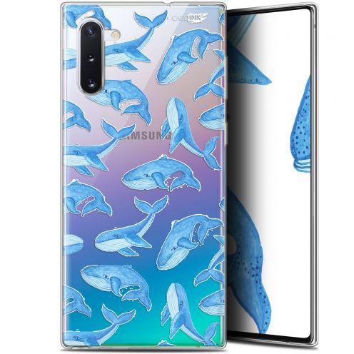 """Carcasa Gel Extra Fina Samsung Galaxy Note 10 (6.3"""") Design Baleines"""