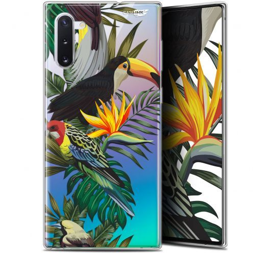 """Carcasa Gel Extra Fina Samsung Galaxy Note 10 (6.3"""") Design Toucan Tropical"""