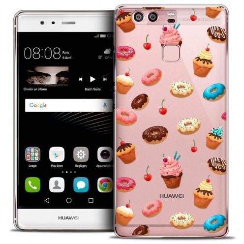 Carcasa Crystal Rigide Extra Fina Huawei P9 Foodie Donuts