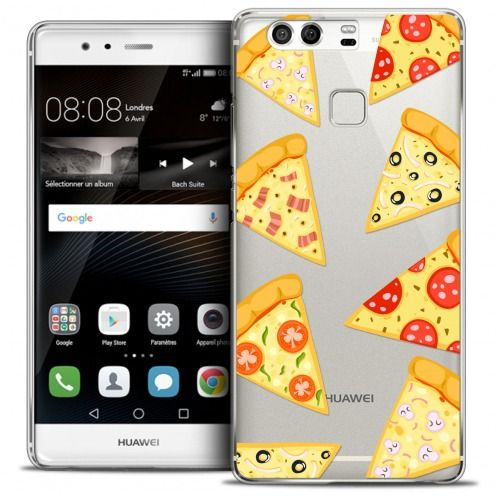 Carcasa Crystal Rigide Extra Fina Huawei P9 Foodie Pizza