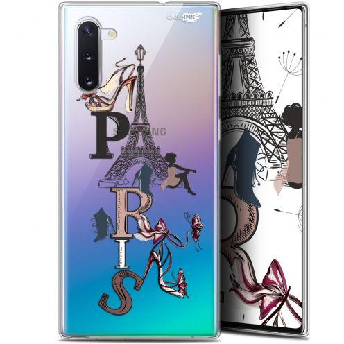 "Carcasa Gel Extra Fina Samsung Galaxy Note 10 (6.3"") Design Stylish Paris"