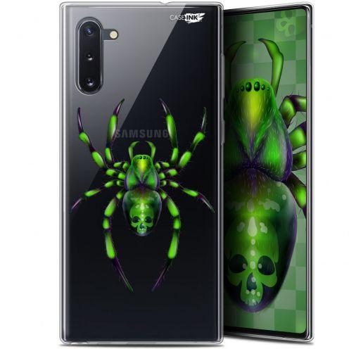 "Carcasa Gel Extra Fina Samsung Galaxy Note 10 (6.3"") Design Arraignée Verte"
