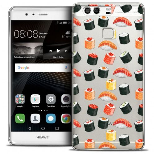 Carcasa Crystal Rigide Extra Fina Huawei P9 Foodie Sushi