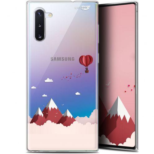 """Carcasa Gel Extra Fina Samsung Galaxy Note 10 (6.3"""") Design Montagne En Montgolfière"""