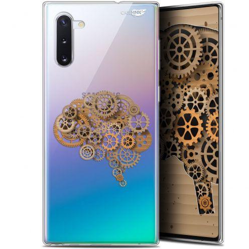 "Carcasa Gel Extra Fina Samsung Galaxy Note 10 (6.3"") Design Mécanismes du Cerveau"