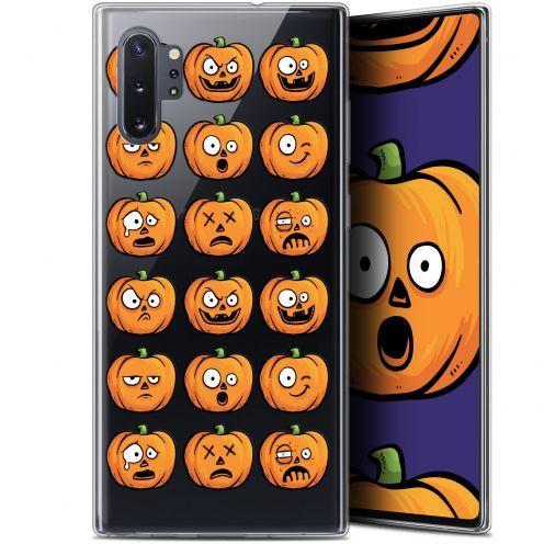 "Carcasa Gel Extra Fina Samsung Galaxy Note 10+ / Plus (6.8"") Halloween Cartoon Citrouille"
