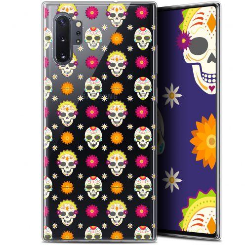 "Carcasa Gel Extra Fina Samsung Galaxy Note 10+ / Plus (6.8"") Halloween Skull Halloween"